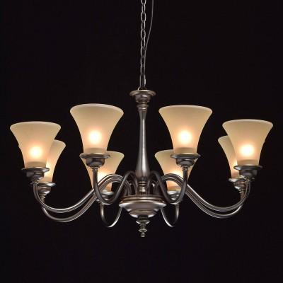 Mw light 102010308 СветильникПодвесные<br><br><br>Установка на натяжной потолок: Да<br>S освещ. до, м2: 16<br>Тип лампы: Накаливания / энергосбережения / светодиодная<br>Тип цоколя: E27<br>Цвет арматуры: бронзовый<br>Количество ламп: 8<br>Диаметр, мм мм: 900<br>Высота, мм: 580 - 1110<br>MAX мощность ламп, Вт: 40