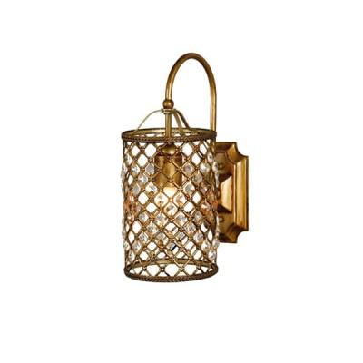 Светильник бра Favourite 1026-1W CasablancaМорской стиль<br><br><br>S освещ. до, м2: 4<br>Тип лампы: накаливания / энергосбережения / LED-светодиодная<br>Тип цоколя: E27<br>Количество ламп: 1<br>Ширина, мм: 140<br>MAX мощность ламп, Вт: 60<br>Диаметр, мм мм: 240<br>Размеры: W140*H325*D240<br>Расстояние от стены, мм: 240<br>Высота, мм: 325<br>Оттенок (цвет): бронзовый<br>Цвет арматуры: бронзовый