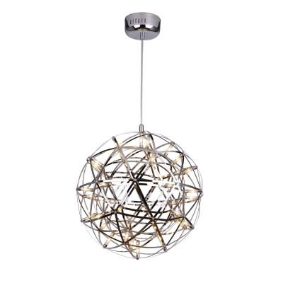 Светильник Divinare 1030/02 SP-42Подвесные<br><br><br>Установка на натяжной потолок: Да<br>S освещ. до, м2: 28<br>Тип лампы: LED<br>Тип цоколя: LED<br>Количество ламп: 42<br>MAX мощность ламп, Вт: 13W<br>Диаметр, мм мм: 420<br>Высота, мм: 420 - 850