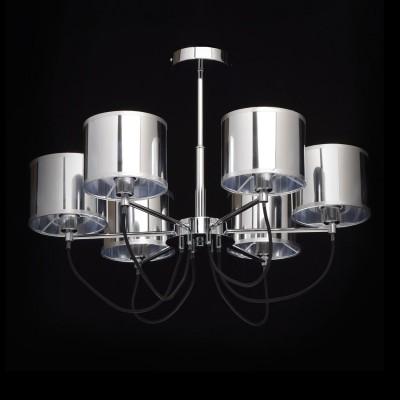 Mw light Лацио 103010806 ЛюстраПотолочные<br><br><br>Установка на натяжной потолок: Да<br>S освещ. до, м2: 12<br>Тип лампы: Накаливания / энергосбережения / светодиодная<br>Тип цоколя: E14<br>Количество ламп: 6<br>MAX мощность ламп, Вт: 40<br>Диаметр, мм мм: 680<br>Высота, мм: 500