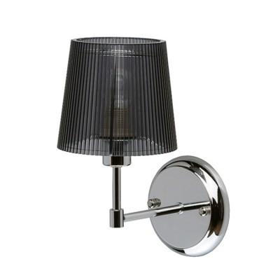Mw light 103020401 СветильникСовременные<br><br><br>Тип лампы: Накаливания / энергосбережения / светодиодная<br>Тип цоколя: E14<br>Цвет арматуры: серебристый<br>Количество ламп: 1<br>Ширина, мм: 130<br>Расстояние от стены, мм: 260<br>Высота, мм: 200<br>MAX мощность ламп, Вт: 40