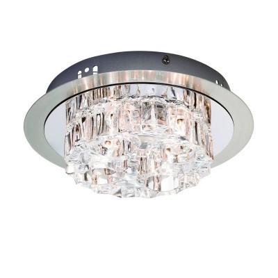 Светильник Markslojd 103093Потолочные<br><br><br>S освещ. до, м2: 4<br>Тип лампы: галогенная/LED<br>Тип цоколя: G4<br>Цвет арматуры: серебристый<br>Количество ламп: 4<br>Диаметр, мм мм: 240<br>Высота, мм: 80<br>MAX мощность ламп, Вт: 20