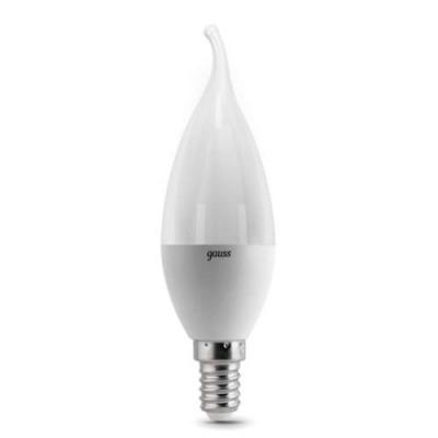 Лампа Gauss 104101107 LED LED Candle tailed E14 6.5W 2700K 1/10/50В виде свечи<br>В интернет-магазине «Светодом» можно купить не только люстры и светильники, но и лампочки. В нашем каталоге представлены светодиодные, галогенные, энергосберегающие модели и лампы накаливания. В ассортименте имеются изделия разной мощности, поэтому у нас Вы сможете приобрести все необходимое для освещения.   Лампа Gauss 104101107 LED LED Candle tailed E14 6.5W 2700K 1/10/50 обеспечит отличное качество освещения. При покупке ознакомьтесь с параметрами в разделе «Характеристики», чтобы не ошибиться в выборе. Там же указано, для каких осветительных приборов Вы можете использовать лампу Gauss 104101107 LED LED Candle tailed E14 6.5W 2700K 1/10/50Gauss 104101107 LED LED Candle tailed E14 6.5W 2700K 1/10/50.   Для оформления покупки воспользуйтесь «Корзиной». При наличии вопросов Вы можете позвонить нашим менеджерам по одному из контактных номеров. Мы доставляем заказы в Москву, Екатеринбург и другие города России.<br><br>Цветовая t, К: WW - теплый белый 2700-3000 К<br>Тип лампы: LED - светодиодная<br>Тип цоколя: E14<br>MAX мощность ламп, Вт: 6.5