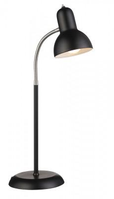 Светильник MarkSlojd  LampGustaf 104339Офисные<br>Настольная лампа – это не просто источник дополнительного освещения, но и оригинальный элемент декора. Его можно установить в спальне, гостиной, кабинете и других комнатах. Интернет-магазин «Светодом» предлагает настольные лампы разных стилей по доступным ценам. Благодаря большому ассортименту Вы обязательно найдете в нашем каталоге именно ту модель, которую искали. <br> Настольная лампа MarkSlojd 104339 – прекрасный вариант для завершения интерьера. Ее можно включить одновременно с люстрой для более яркого освещения или без нее для создания уютной атмосферы, настраивающей на отдых. <br> Купить настольную лампу MarkSlojd 104339 Вы можете с помощью виртуальной «Корзины» или по контактным номерам, указанным на сайте.<br><br>Тип лампы: Накаливания / энергосбережения / светодиодная<br>Тип цоколя: E27<br>Цвет арматуры: черный<br>Диаметр, мм мм: 190<br>Высота, мм: 610<br>MAX мощность ламп, Вт: 40