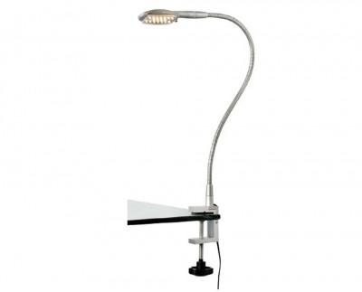 Светильник MarkSlojd  LampGustaf 104437На струбцине<br><br><br>Тип лампы: LED<br>MAX мощность ламп, Вт: 1<br>Диаметр, мм мм: 150<br>Высота, мм: 400