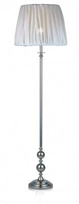 Торшер MarkSlojd  LampGustaf 104622Классические<br>Торшер – это не просто функциональный предмет интерьера, позволяющий обеспечить дополнительное освещение, но и оригинальный декоративный элемент. Интернет-магазин «Светодом» предлагает стильные модели от известных производителей по доступным ценам. У нас Вы найдете и классические напольные светильники, и современные варианты.  Торшер MarkSlojd 104622 сразу же привлекает внимание благодаря своему необычному дизайну. Модель выполнена из качественных материалов, что обеспечит ее надежную и долговечную работу. Такой напольный светильник можно использовать для интерьера не только гостиной, но и спальни или кабинета.  Купить торшер MarkSlojd 104622 по выгодной стоимости Вы можете с помощью нашего сайта. У нас склады в Москве, Екатеринбурге, Санкт-Петербурге, Новосибирске и другим городам России.<br><br>Тип лампы: Накаливания / энергосбережения / светодиодная<br>MAX мощность ламп, Вт: 60<br>Диаметр, мм мм: 450<br>Высота, мм: 1570<br>Цвет арматуры: серебристый