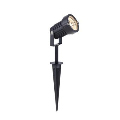 Светильник Markslojd 104722Грунтовые<br><br><br>Тип лампы: LED<br>Тип цоколя: LED<br>Цвет арматуры: черный<br>Диаметр, мм мм: 72<br>Высота, мм: 380