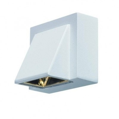 Светильник Markslojd 104733Настенные<br><br><br>Тип лампы: LED<br>Ширина, мм: 63<br>Расстояние от стены, мм: 80<br>Высота, мм: 75<br>Цвет арматуры: белый