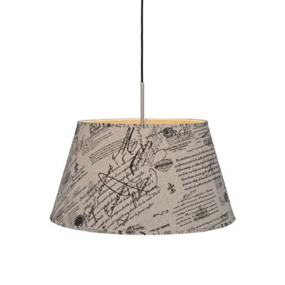 Светильник MarkSlojd  LampGustaf 104798Одиночные<br><br><br>Тип лампы: Накаливания / энергосбережения / светодиодная<br>Тип цоколя: E27<br>Количество ламп: 1<br>MAX мощность ламп, Вт: 60<br>Диаметр, мм мм: 550<br>Высота, мм: 295