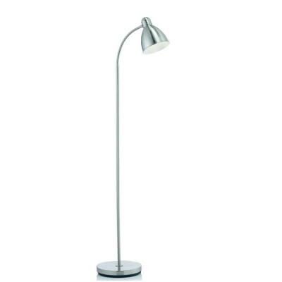 Светильник Markslojd 104842Современные<br><br><br>Тип лампы: Накаливания / энергосбережения / светодиодная<br>Тип цоколя: E27<br>Количество ламп: 1<br>MAX мощность ламп, Вт: 60<br>Диаметр, мм мм: 250<br>Высота, мм: 1450<br>Цвет арматуры: серебристый