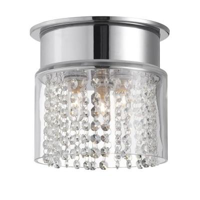 Светильник Markslojd 104881Потолочные<br><br><br>S освещ. до, м2: 6<br>Тип лампы: галогенная/LED<br>Тип цоколя: G9<br>Цвет арматуры: серебристый<br>Количество ламп: 3<br>Диаметр, мм мм: 210<br>Высота, мм: 200<br>MAX мощность ламп, Вт: 40