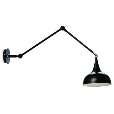 Светильник MarkSlojd  LampGustaf 104927На штанге<br><br><br>Тип лампы: Накаливания / энергосбережения / светодиодная<br>Тип цоколя: E14<br>Количество ламп: 1<br>Ширина, мм: 200<br>MAX мощность ламп, Вт: 40<br>Длина, мм: 900<br>Высота, мм: 370<br>Цвет арматуры: черный