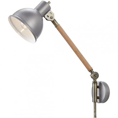 Светильник MarkSlojd  LampGustaf 104934На штанге<br><br><br>Тип лампы: Накаливания / энергосбережения / светодиодная<br>Тип цоколя: E27<br>Количество ламп: 1<br>Ширина, мм: 160<br>Длина, мм: 470<br>Высота, мм: 480<br>MAX мощность ламп, Вт: 60