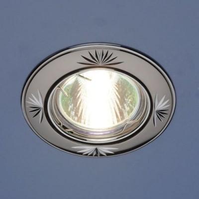 104A GU/SL черный / серебро Электростандарт Светильник точечный поворотныйКруглые<br>Лампа: MR16 G5.3 max 50 Вт Диаметр: #216; 81 мм Высота внутренней части: ? 20 мм Высота внешней части: ? 4 мм Монтажное отверстие: #216; 76 мм Гарантия: 2 года Светильник имеет поворотный механизм.<br><br>S освещ. до, м2: 3<br>Тип лампы: галогенная<br>Тип цоколя: gu5.3<br>Цвет арматуры: серебристый<br>Количество ламп: 1<br>Диаметр, мм мм: 80<br>Диаметр врезного отверстия, мм: 75<br>Оттенок (цвет): черный<br>MAX мощность ламп, Вт: 50