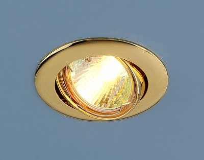 104S GD (золото) Электростандарт Точечный светильникТочечные светильники круглые<br>Лампа: MR16 G5.3 max 50 Вт Диаметр: #216; 79 мм Высота внутренней части: ? 20 мм Высота внешней части: ? 4 мм Монтажное отверстие: #216; 76 мм Гарантия: 2 года Светильник имеет поворотный механизм<br><br>Тип лампы: галогенная<br>Тип цоколя: gu5.3<br>Диаметр, мм мм: 81<br>Диаметр врезного отверстия, мм: 75<br>MAX мощность ламп, Вт: 50