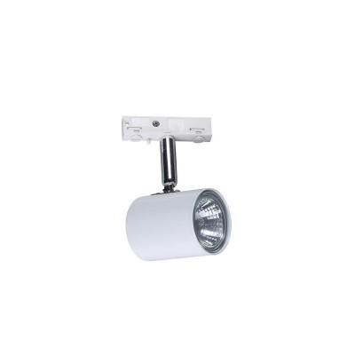 Светильник Markslojd 105032Светильники для трека<br><br><br>Тип лампы: галогенная/LED<br>Тип цоколя: 1<br>Ширина, мм: 55<br>MAX мощность ламп, Вт: 20<br>Длина, мм: 70<br>Высота, мм: 125<br>Цвет арматуры: белый/серебристый