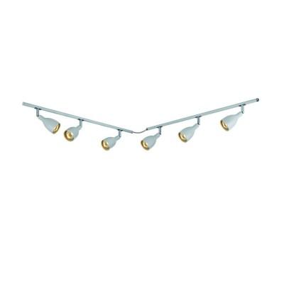 Светильник Markslojd 105067Более 5 ламп<br><br><br>Тип лампы: галогенная/LED<br>Тип цоколя: GU10<br>Количество ламп: 6<br>Ширина, мм: 65<br>MAX мощность ламп, Вт: 35<br>Длина, мм: 1350<br>Высота, мм: 160<br>Цвет арматуры: белый