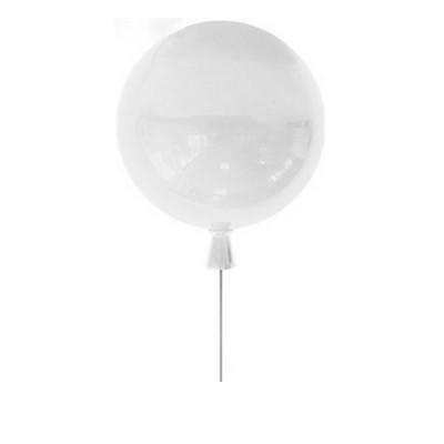 Светильник воздушный шар Colosseo LUX 1055/30/1C PalloneПотолочные<br>Компания «Светодом» предлагает широкий ассортимент люстр от известных производителей. Представленные в нашем каталоге товары выполнены из современных материалов и обладают отличным качеством. Благодаря широкому ассортименту Вы сможете найти у нас люстру под любой интерьер. Мы предлагаем как классические варианты, так и современные модели, отличающиеся лаконичностью и простотой форм. <br>Стильная люстра Colosseo 1055/30/1C станет украшением любого дома. Эта модель от известного производителя не оставит равнодушным ценителей красивых и оригинальных предметов интерьера. Люстра Colosseo 1055/30/1C обеспечит равномерное распределение света по всей комнате. При выборе обратите внимание на характеристики, позволяющие приобрести наиболее подходящую модель. <br>Купить понравившуюся люстру по доступной цене Вы можете в интернет-магазине «Светодом».<br><br>S освещ. до, м2: 3<br>Тип лампы: Накаливания / энергосбережения / светодиодная<br>Тип цоколя: E27<br>Количество ламп: 1<br>MAX мощность ламп, Вт: 60<br>Диаметр, мм мм: 300<br>Оттенок (цвет): белый