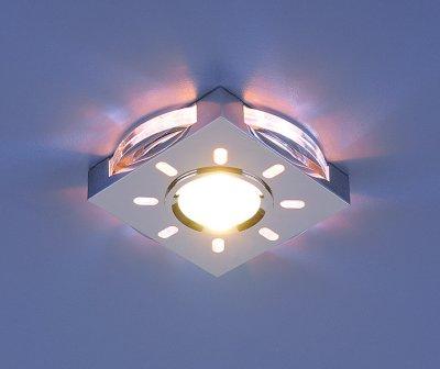 Купить Светильник Электростандарт 1051 хром/белая подсветка