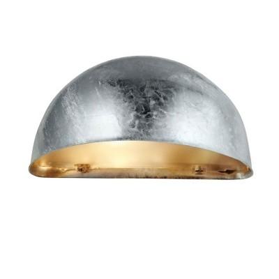 Уличный настенный светильник Markslojd 105174Настенные<br><br><br>Тип лампы: Накаливания / энергосбережения / светодиодная<br>Тип цоколя: E27<br>Количество ламп: 1<br>Ширина, мм: 280<br>MAX мощность ламп, Вт: 25<br>Расстояние от стены, мм: 130<br>Высота, мм: 135<br>Цвет арматуры: серебристый