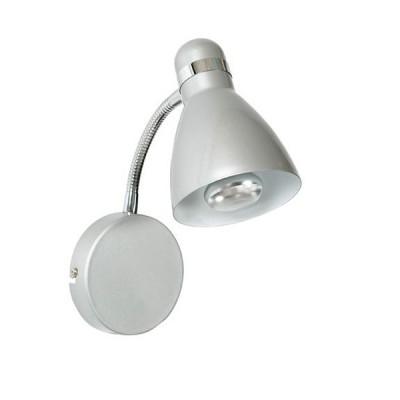 Светильник Markslojd 105194Современные<br><br><br>Тип лампы: Накаливания / энергосбережения / светодиодная<br>Тип цоколя: E14<br>Количество ламп: 1<br>Ширина, мм: 110<br>MAX мощность ламп, Вт: 40<br>Высота, мм: 300<br>Цвет арматуры: серебристый