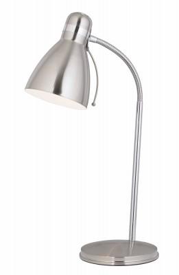 Светильник MarkSlojd  LampGustaf 105197Офисные<br>Настольная лампа – это не просто источник дополнительного освещения, но и оригинальный элемент декора. Его можно установить в спальне, гостиной, кабинете и других комнатах. Интернет-магазин «Светодом» предлагает настольные лампы разных стилей по доступным ценам. Благодаря большому ассортименту Вы обязательно найдете в нашем каталоге именно ту модель, которую искали. <br> Настольная лампа MarkSlojd 105197 – прекрасный вариант для завершения интерьера. Ее можно включить одновременно с люстрой для более яркого освещения или без нее для создания уютной атмосферы, настраивающей на отдых. <br> Купить настольную лампу MarkSlojd 105197 Вы можете с помощью виртуальной «Корзины» или по контактным номерам, указанным на сайте.<br><br>Диаметр, мм мм: 170<br>Высота, мм: 530<br>Цвет арматуры: серебристый