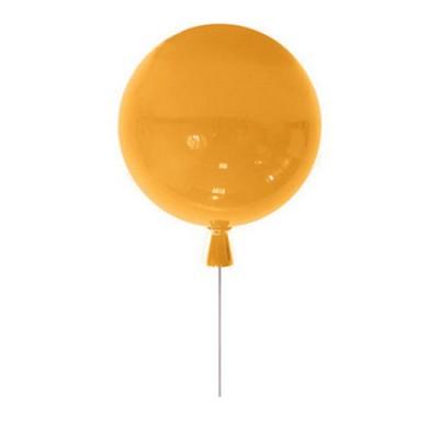 Светильник потолочный Colosseo LUX 1051/25/1C PalloneПотолочные<br><br><br>Тип товара: Светильник потолочный<br>Тип лампы: Накаливания / энергосбережения / светодиодная<br>Тип цоколя: E27<br>Количество ламп: 1<br>MAX мощность ламп, Вт: 60<br>Диаметр, мм мм: 250<br>Оттенок (цвет): оранжевый