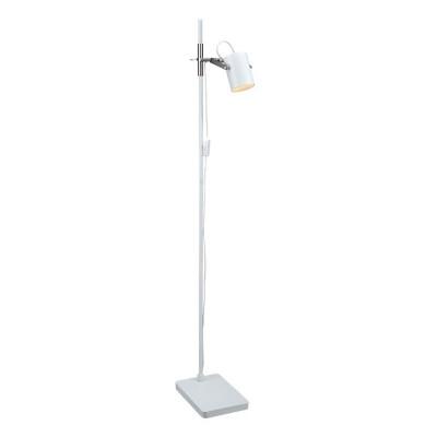 Торшер Markslojd 105233Хай-тек<br><br><br>Тип лампы: галогенная/LED<br>Тип цоколя: G5.3<br>Количество ламп: 1<br>Ширина, мм: 320<br>MAX мощность ламп, Вт: 35<br>Длина, мм: 190<br>Высота, мм: 1400<br>Цвет арматуры: белый