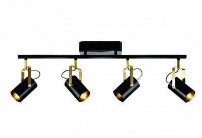 Светильник MarkSlojd  LampGustaf 105236С 4 лампами<br>Светильники-споты – это оригинальные изделия с современным дизайном. Они позволяют не ограничивать свою фантазию при выборе освещения для интерьера. Такие модели обеспечивают достаточно качественный свет. Благодаря компактным размерам Вы можете использовать несколько спотов для одного помещения.  Интернет-магазин «Светодом» предлагает необычный светильник-спот MarkSlojd 105236 по привлекательной цене. Эта модель станет отличным дополнением к люстре, выполненной в том же стиле. Перед оформлением заказа изучите характеристики изделия.  Купить светильник-спот MarkSlojd 105236 в нашем онлайн-магазине Вы можете либо с помощью формы на сайте, либо по указанным выше телефонам. Обратите внимание, что у нас склады не только в Москве и Екатеринбурге, но и других городах России.<br><br>Ширина, мм: 100<br>Длина, мм: 850<br>Высота, мм: 280<br>Цвет арматуры: серебристый