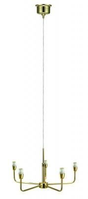 Светильник MarkSlojd  LampGustaf 105261Подвесные<br>Компания «Светодом» предлагает широкий ассортимент люстр от известных производителей. Представленные в нашем каталоге товары выполнены из современных материалов и обладают отличным качеством. Благодаря широкому ассортименту Вы сможете найти у нас люстру под любой интерьер. Мы предлагаем как классические варианты, так и современные модели, отличающиеся лаконичностью и простотой форм.  Стильная люстра MarkSlojd 105261 станет украшением любого дома. Эта модель от известного производителя не оставит равнодушным ценителей красивых и оригинальных предметов интерьера. Люстра MarkSlojd 105261 обеспечит равномерное распределение света по всей комнате. При выборе обратите внимание на характеристики, позволяющие приобрести наиболее подходящую модель. Купить понравившуюся люстру по доступной цене Вы можете в интернет-магазине «Светодом».<br><br>Установка на натяжной потолок: Да<br>S освещ. до, м2: 10<br>Крепление: Крюк<br>Тип лампы: Накаливания / энергосбережения / светодиодная<br>Тип цоколя: E14<br>Количество ламп: 5<br>MAX мощность ламп, Вт: 40<br>Диаметр, мм мм: 450<br>Высота, мм: 400 - 1500<br>Цвет арматуры: Золотой