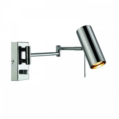 Светильник MarkSlojd  LampGustaf 105299На штанге<br><br><br>Ширина, мм: 165<br>Длина, мм: 340<br>Высота, мм: 170<br>Цвет арматуры: серебристый