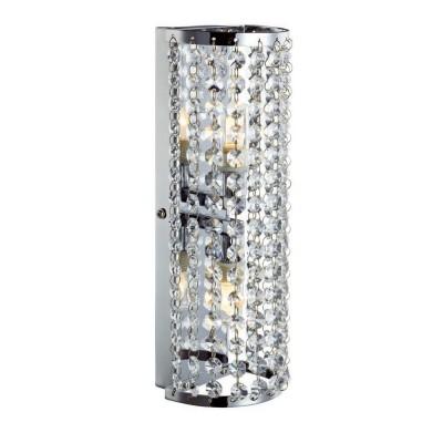 Светильник Markslojd 105309Хрустальные<br><br><br>Тип лампы: галогенная/LED<br>Тип цоколя: G9<br>Количество ламп: 2<br>Ширина, мм: 100<br>MAX мощность ламп, Вт: 28<br>Расстояние от стены, мм: 100<br>Высота, мм: 310<br>Цвет арматуры: серебристый