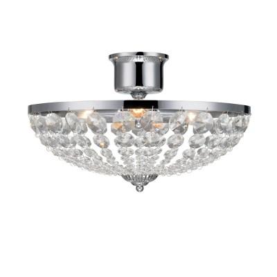 Светильник Markslojd 105316Потолочные<br><br><br>S освещ. до, м2: 6<br>Тип лампы: Накаливания / энергосбережения / светодиодная<br>Тип цоколя: E14<br>Количество ламп: 3<br>Диаметр, мм мм: 400<br>Высота, мм: 280<br>MAX мощность ламп, Вт: 40