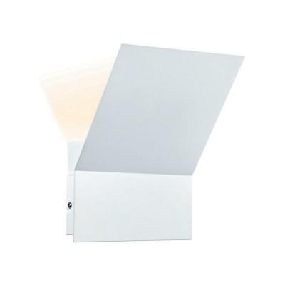 Светильник Markslojd 105405Бра хай тек стиля<br><br><br>Цветовая t, К: 3000<br>Тип лампы: LED<br>Цвет арматуры: белый<br>Ширина, мм: 200<br>Расстояние от стены, мм: 125<br>Высота, мм: 255<br>MAX мощность ламп, Вт: 1