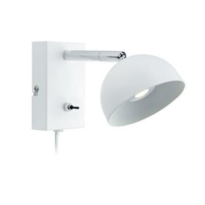 Светильник Markslojd 105406Хай-тек<br><br><br>Цветовая t, К: 3000<br>Тип лампы: LED<br>Ширина, мм: 100<br>MAX мощность ламп, Вт: 2<br>Расстояние от стены, мм: 260<br>Высота, мм: 110<br>Цвет арматуры: белый