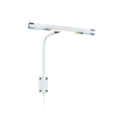 Светильник Markslojd 105427Хай-тек<br><br><br>Цветовая t, К: 3000<br>Тип лампы: LED<br>Тип цоколя: LED<br>Ширина, мм: 220<br>MAX мощность ламп, Вт: 6<br>Расстояние от стены, мм: 190<br>Высота, мм: 230<br>Цвет арматуры: белый