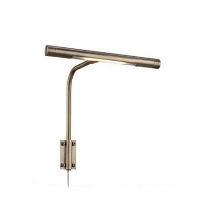Светильник Markslojd 105429Для зеркала<br><br><br>Тип лампы: LED<br>Тип цоколя: LED<br>Цвет арматуры: бронзовый<br>Ширина, мм: 220<br>Расстояние от стены, мм: 190<br>Высота, мм: 230<br>MAX мощность ламп, Вт: 6