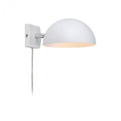 Светильник MarkSlojd  LampGustaf 105478Современные<br><br><br>Тип лампы: Накаливания / энергосбережения / светодиодная<br>Тип цоколя: E14<br>Количество ламп: 1<br>Ширина, мм: 180<br>MAX мощность ламп, Вт: 40<br>Длина, мм: 240<br>Высота, мм: 120<br>Цвет арматуры: белый