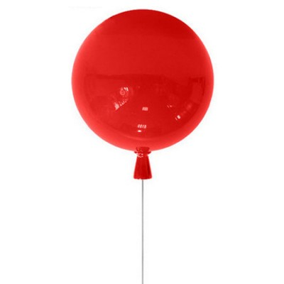 Светильник воздушный шар Colosseo LUX 1059/30/1C PalloneПотолочные<br>Компания «Светодом» предлагает широкий ассортимент люстр от известных производителей. Представленные в нашем каталоге товары выполнены из современных материалов и обладают отличным качеством. Благодаря широкому ассортименту Вы сможете найти у нас люстру под любой интерьер. Мы предлагаем как классические варианты, так и современные модели, отличающиеся лаконичностью и простотой форм. <br>Стильная люстра Colosseo 1059/30/1C станет украшением любого дома. Эта модель от известного производителя не оставит равнодушным ценителей красивых и оригинальных предметов интерьера. Люстра Colosseo 1059/30/1C обеспечит равномерное распределение света по всей комнате. При выборе обратите внимание на характеристики, позволяющие приобрести наиболее подходящую модель. <br>Купить понравившуюся люстру по доступной цене Вы можете в интернет-магазине «Светодом».<br><br>Установка на натяжной потолок: Да<br>S освещ. до, м2: 3<br>Крепление: Планка<br>Тип лампы: Накаливания / энергосбережения / светодиодная<br>Тип цоколя: E27<br>Количество ламп: 1<br>MAX мощность ламп, Вт: 60<br>Диаметр, мм мм: 300<br>Оттенок (цвет): красный