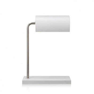Светильник MarkSlojd  LampGustaf 105504Хай тек<br>Настольная лампа – это не просто источник дополнительного освещения, но и оригинальный элемент декора. Его можно установить в спальне, гостиной, кабинете и других комнатах. Интернет-магазин «Светодом» предлагает настольные лампы разных стилей по доступным ценам. Благодаря большому ассортименту Вы обязательно найдете в нашем каталоге именно ту модель, которую искали.   Настольная лампа MarkSlojd 105504 – прекрасный вариант для завершения интерьера. Ее можно включить одновременно с люстрой для более яркого освещения или без нее для создания уютной атмосферы, настраивающей на отдых.   Купить настольную лампу MarkSlojd 105504 Вы можете с помощью виртуальной «Корзины» или по контактным номерам, указанным на сайте.<br><br>Тип лампы: Накаливания / энергосбережения / светодиодная<br>Тип цоколя: E14<br>Количество ламп: 1<br>Ширина, мм: 140<br>MAX мощность ламп, Вт: 40<br>Длина, мм: 270<br>Высота, мм: 390<br>Цвет арматуры: серебристый