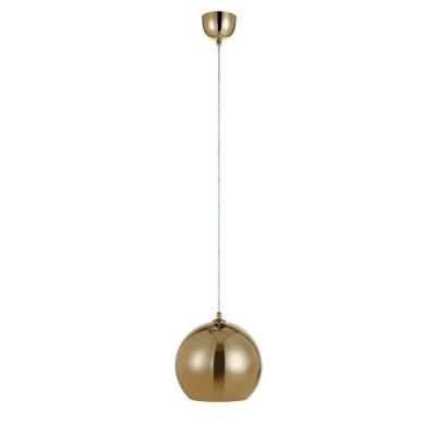 Светильник Markslojd 105563Одиночные<br><br><br>Тип лампы: Накаливания / энергосбережения / светодиодная<br>Тип цоколя: E27<br>Цвет арматуры: золотой<br>Количество ламп: 1<br>Диаметр, мм мм: 250<br>Высота, мм: 250 - 1750<br>MAX мощность ламп, Вт: 40