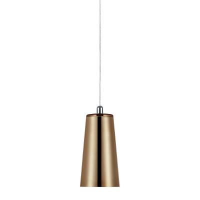 Светильник Markslojd 105565Одиночные<br><br><br>Тип лампы: Накаливания / энергосбережения / светодиодная<br>Тип цоколя: E14<br>Цвет арматуры: золотой<br>Количество ламп: 1<br>Диаметр, мм мм: 95<br>Высота, мм: 275 - 1775<br>MAX мощность ламп, Вт: 40