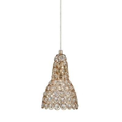 Светильник Markslojd 105568Одиночные<br><br><br>Тип лампы: Накаливания / энергосбережения / светодиодная<br>Тип цоколя: E14<br>Количество ламп: 1<br>MAX мощность ламп, Вт: 40<br>Диаметр, мм мм: 120<br>Высота, мм: 190 - 1200<br>Цвет арматуры: золотой