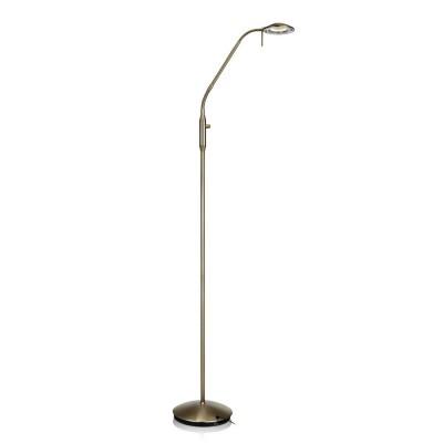 Светильник Markslojd 105582Хай-тек<br><br><br>Цветовая t, К: 3000<br>Тип лампы: LED<br>Ширина, мм: 200<br>MAX мощность ламп, Вт: 6<br>Длина, мм: 400<br>Высота, мм: 1350<br>Цвет арматуры: бронзовый