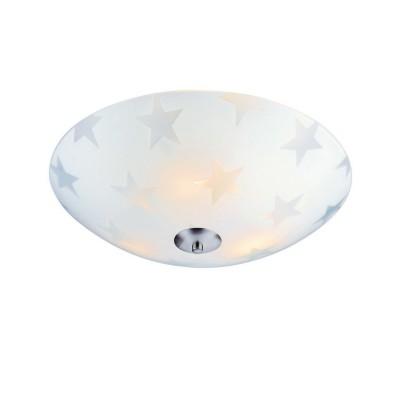 Светильник Markslojd 105611Потолочные<br><br><br>S освещ. до, м2: 5<br>Цветовая t, К: 3000<br>Тип лампы: LED<br>Цвет арматуры: серебристый<br>Диаметр, мм мм: 350<br>Высота, мм: 110<br>MAX мощность ламп, Вт: 12