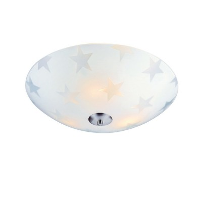 Светильник Markslojd 105612Потолочные<br><br><br>S освещ. до, м2: 6<br>Цветовая t, К: 3000<br>Тип лампы: LED<br>Цвет арматуры: серебристый<br>Диаметр, мм мм: 430<br>Высота, мм: 120<br>MAX мощность ламп, Вт: 15
