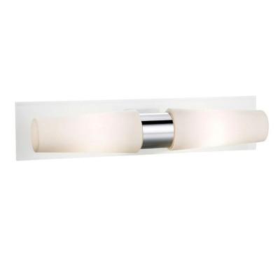 Светильник Markslojd 105637современные бра модерн<br><br><br>Цветовая t, К: 2700<br>Тип лампы: LED<br>Тип цоколя: LED<br>Цвет арматуры: серебристый<br>Количество ламп: 2<br>Ширина, мм: 400<br>Расстояние от стены, мм: 115<br>Высота, мм: 90<br>MAX мощность ламп, Вт: 8