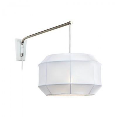 Светильник MarkSlojd  LampGustaf 105711Восточный стиль<br><br><br>Тип лампы: Накаливания / энергосбережения / светодиодная<br>Тип цоколя: E27<br>Количество ламп: 1<br>Ширина, мм: 300<br>MAX мощность ламп, Вт: 60<br>Длина, мм: 590<br>Высота, мм: 390<br>Цвет арматуры: серебристый