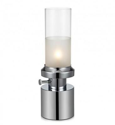 Светильник MarkSlojd  LampGustaf 105775Современные<br>Настольная лампа – это не просто источник дополнительного освещения, но и оригинальный элемент декора. Его можно установить в спальне, гостиной, кабинете и других комнатах. Интернет-магазин «Светодом» предлагает настольные лампы разных стилей по доступным ценам. Благодаря большому ассортименту Вы обязательно найдете в нашем каталоге именно ту модель, которую искали.   Настольная лампа MarkSlojd 105775 – прекрасный вариант для завершения интерьера. Ее можно включить одновременно с люстрой для более яркого освещения или без нее для создания уютной атмосферы, настраивающей на отдых.   Купить настольную лампу MarkSlojd 105775 Вы можете с помощью виртуальной «Корзины» или по контактным номерам, указанным на сайте.<br><br>Тип лампы: галогенная/LED<br>Тип цоколя: G9<br>Количество ламп: 1<br>MAX мощность ламп, Вт: 28<br>Диаметр, мм мм: 140<br>Высота, мм: 415<br>Цвет арматуры: серебристый