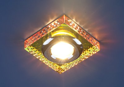 1058 CLEAR/MULTI (зеркальный / мульти) Электростандарт Точечный светильник